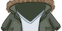Green Fur Lined Jacket