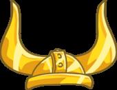 Solid Gold Viking Helmet clothing icon ID 1734