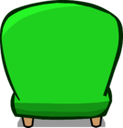 Green Plush Chair sprite 005