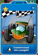 Green race cars