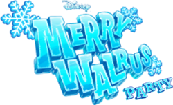 Merry Walrus Party Logo