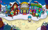 Puffle Party 2014 Town