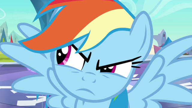 File:640px-Rainbow Dash looks to the left S3E2.png