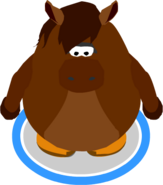 Horse Costume In-Game