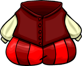 Prince Redhood's Costume