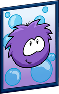 Purple Puffle Poster sprite 001