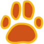 Decal Paw Print icon