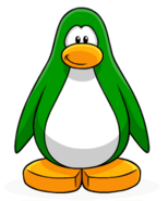 Green Penguin Create