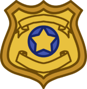 Zootopia Party Badge emoticon