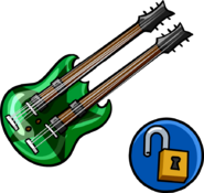 Double Necked Guitar unlockable icon