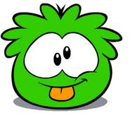 Greenpufflepoke