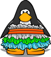 Snow Cone Ruffle Dress from a Player Card