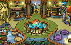 Puffle Hotel Lobby 2