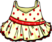 Red Polka Dot Dress icon