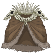 Great Bone Cloak clothing icon ID 3151