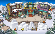 Festival of Snow 2015 construction Town