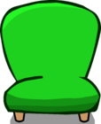 Green Plush Chair sprite 001