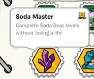 Soda master stamp book