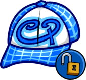 Blue Skater Hat Icon 11090