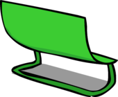Green Bench sprite 005