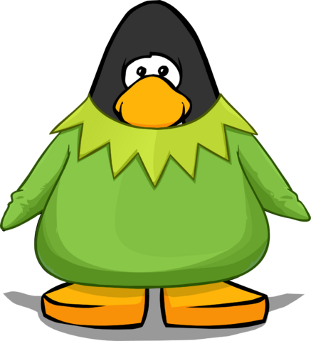 File:Kermit the Frog Costume from a Player Card.png