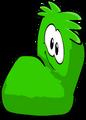 Fuzzy Green Couch sprite 011