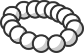 Pearl Necklace clothing icon ID 181