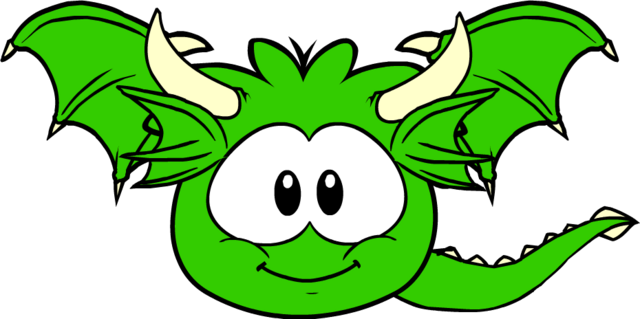 File:Green Dragon Puffle.png