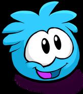 Blue PuffleSmiling