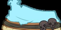 Powder Blue Bone Dress