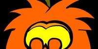 Puffle Jack-O-Lantern