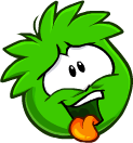 Lol Green Puffle