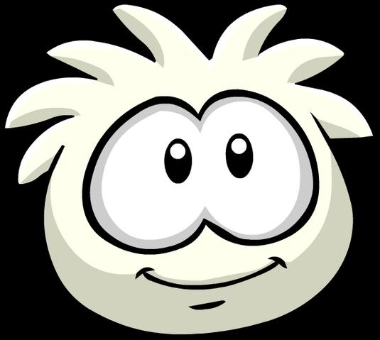 File:White PuffleStare.png