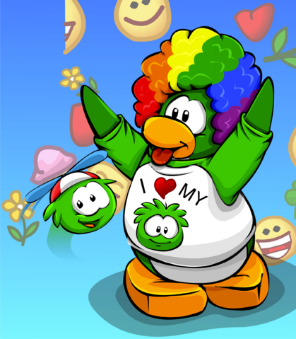 File:Goofy Green Puffle card image.png