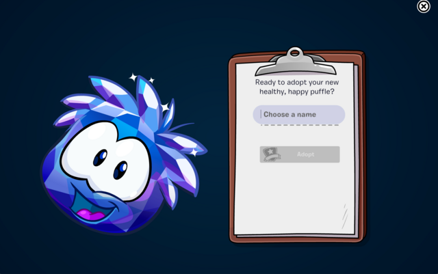 File:Blue Crystal Puffle adoption screen.png