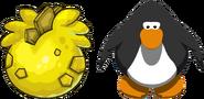 Yellow Stegosaurus Puffle Egg IG