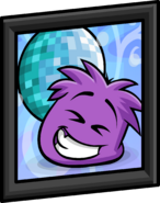 Purple Puffle Picture sprite 001
