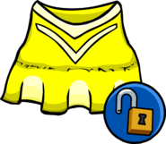 Yellow Cheerleader Outfit unlockable icon