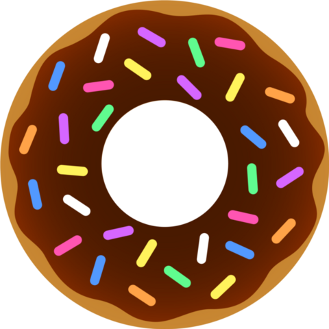 File:Donut chocolate sprinkles.png
