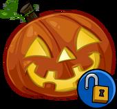 Glowing Pumpkin Head clothing icon ID 1323