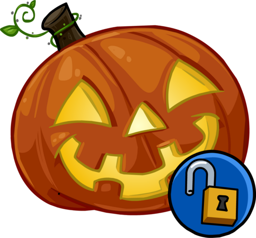 File:Glowing Pumpkin Head clothing icon ID 1323.png