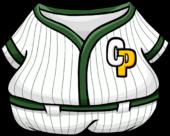 Green Baseball Uniform