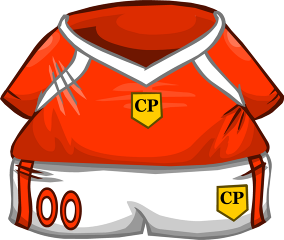 File:Orange Soccer Jersey.png