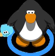 Blue Puffle Stuffie ingame