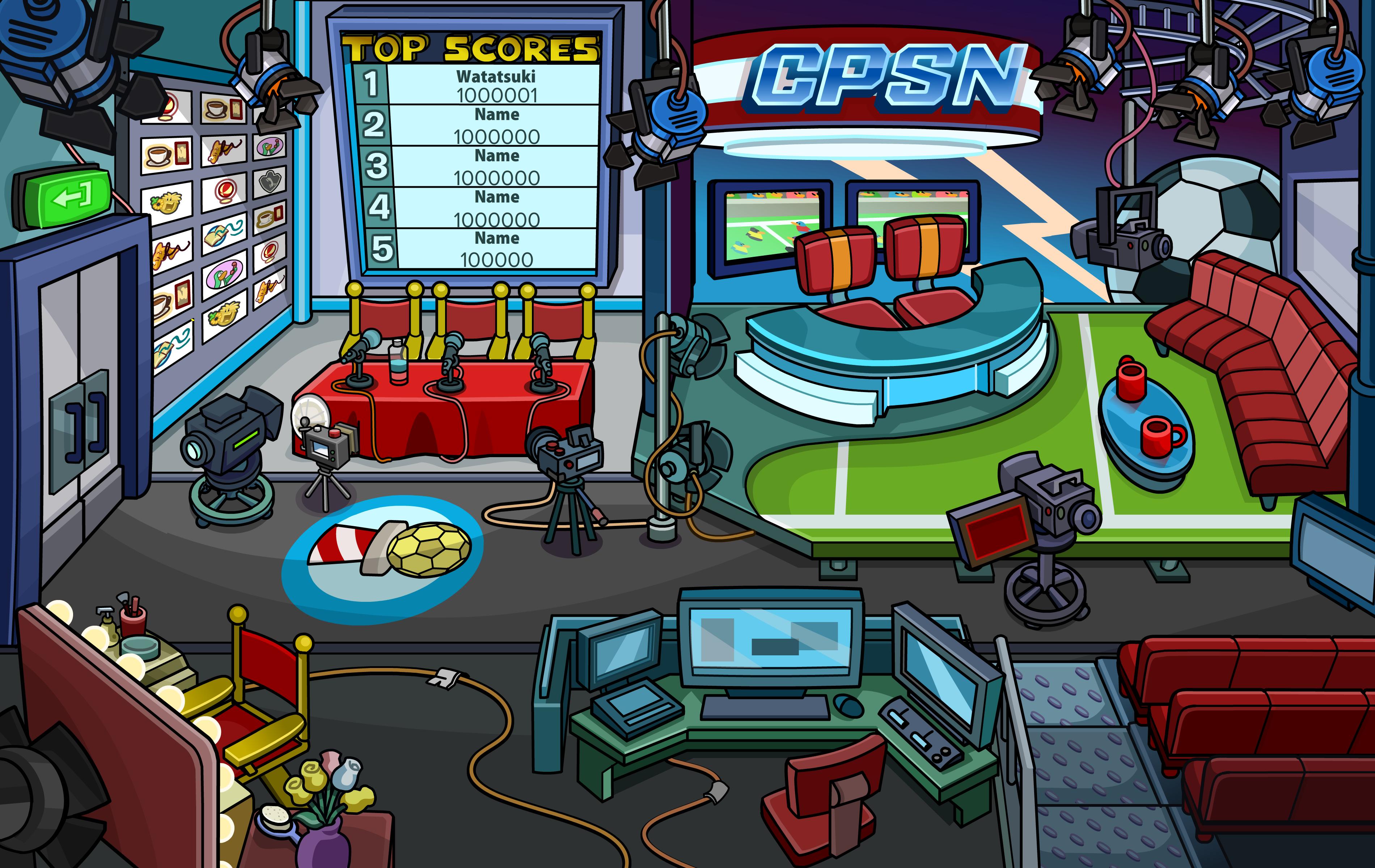 club penguin sports network