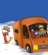 Coffee Delivery Truck card image