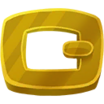 Decal Buckle Gold icon