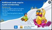 Sleding Upgrades Membership Error