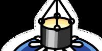Paper Lantern Pin
