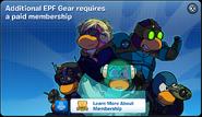 Elite Gear Membership Error